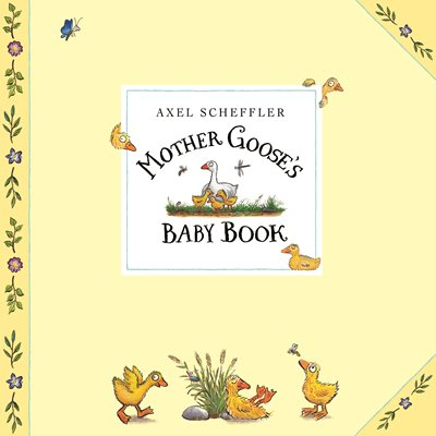 Book cover for Mother Goose's Baby Book